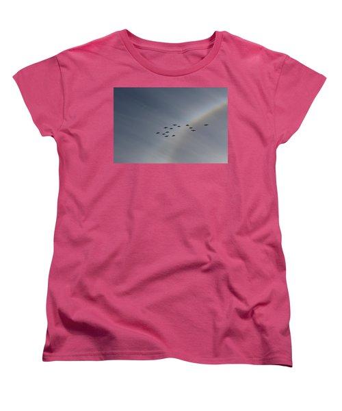 Rainbow Squadron Women's T-Shirt (Standard Cut) by Brian Boyle