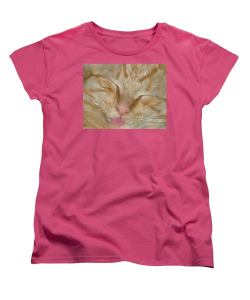 Raspberry Women's T-Shirt (Standard Cut) by Living Color Photography Lorraine Lynch