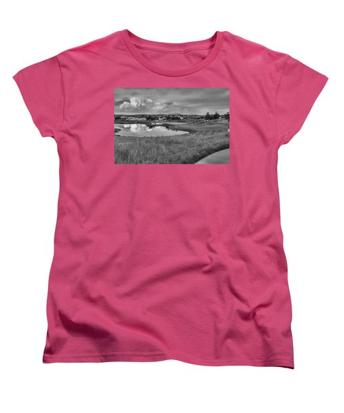 Women's T-Shirt (Standard Cut) featuring the photograph Ravenna Golf Course by Ron White