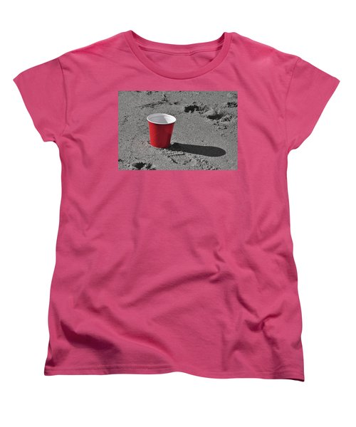 Red Solo Cup Women's T-Shirt (Standard Cut) by Trish Tritz