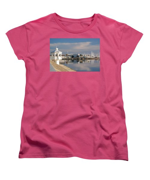 Women's T-Shirt (Standard Cut) featuring the photograph Reflection by Leticia Latocki