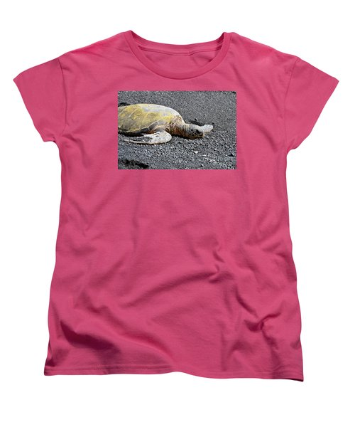 Women's T-Shirt (Standard Cut) featuring the photograph Rest Time by David Lawson