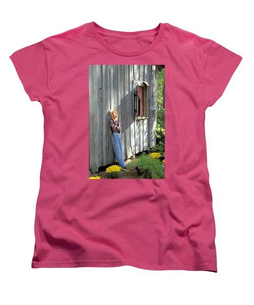 Women's T-Shirt (Standard Cut) featuring the photograph Resting by Gordon Elwell