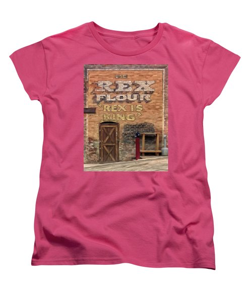 Rex Is King Women's T-Shirt (Standard Cut) by Michael Pickett