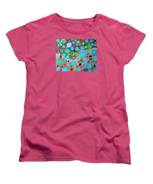 Riches Of People On Earth  Women's T-Shirt (Standard Cut) by Lorna Maza