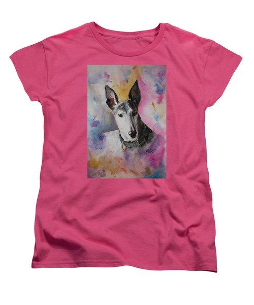 Riding The Rainbow Women's T-Shirt (Standard Cut) by Rachel Hames