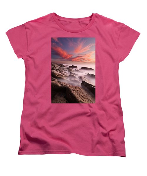 Rock Caos Women's T-Shirt (Standard Cut) by Jorge Maia