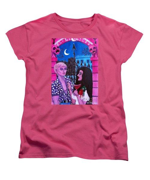 Romantic Couple Women's T-Shirt (Standard Cut) by Don Pedro De Gracia