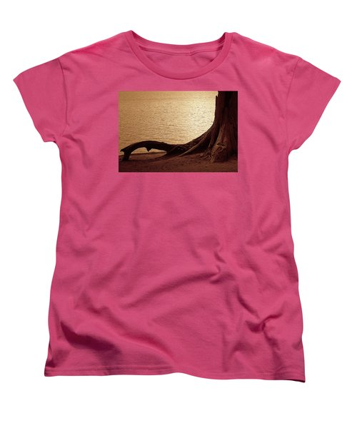 Women's T-Shirt (Standard Cut) featuring the photograph Roots by Mim White