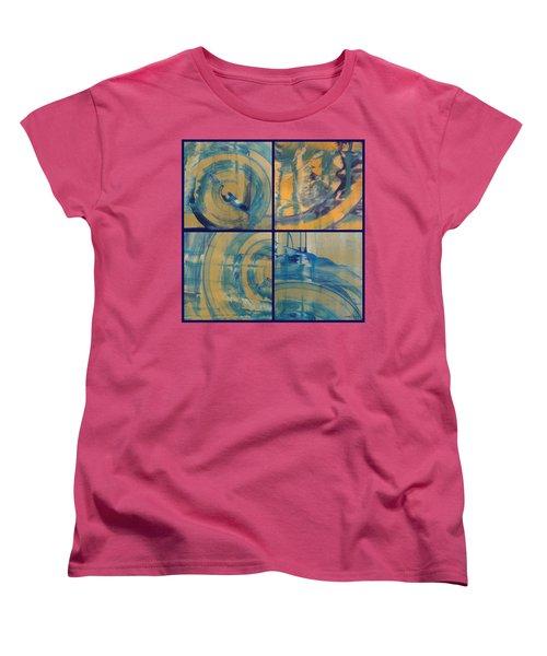 Women's T-Shirt (Standard Cut) featuring the photograph Rotation Part One by Sir Josef - Social Critic - ART