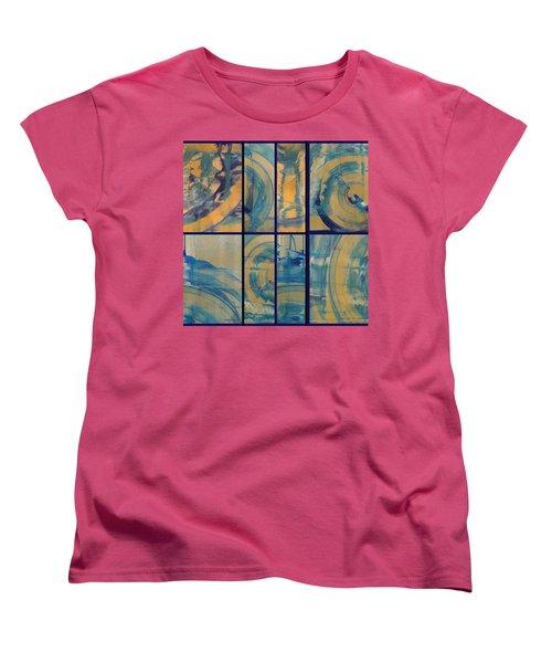 Women's T-Shirt (Standard Cut) featuring the photograph Rotation Part Two by Sir Josef - Social Critic - ART