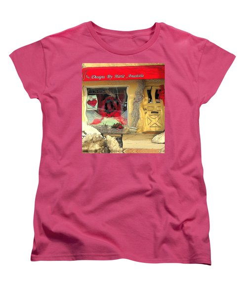 Rouge On The Rue Women's T-Shirt (Standard Cut) by Tami Quigley