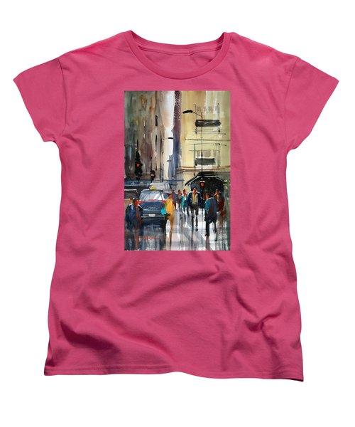 Rush Hour 2 - Chicago Women's T-Shirt (Standard Cut) by Ryan Radke
