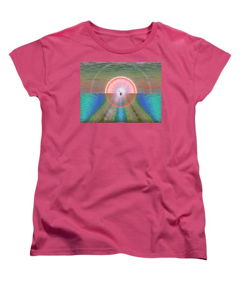 Sailors Warning Women's T-Shirt (Standard Cut) by Tim Allen