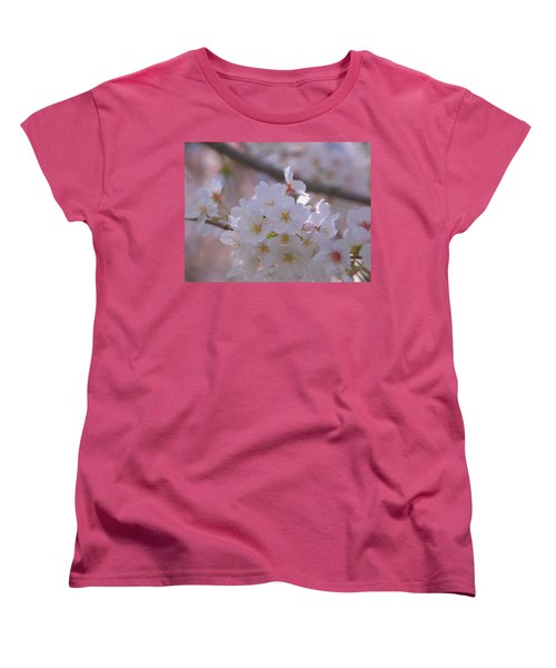 Sakura Women's T-Shirt (Standard Cut) by Rachel Mirror