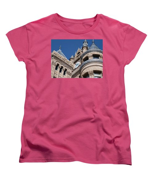 Women's T-Shirt (Standard Cut) featuring the photograph Salt Lake City - City Hall - 1 by Ely Arsha