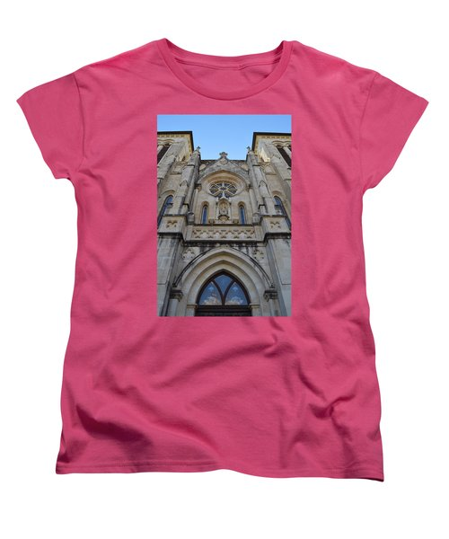 San Antonio Church 02 Women's T-Shirt (Standard Cut) by Shawn Marlow