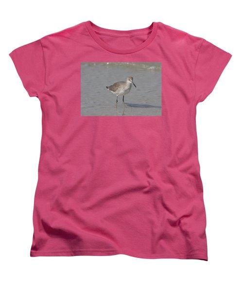 Sandpiper Women's T-Shirt (Standard Cut) by Christiane Schulze Art And Photography