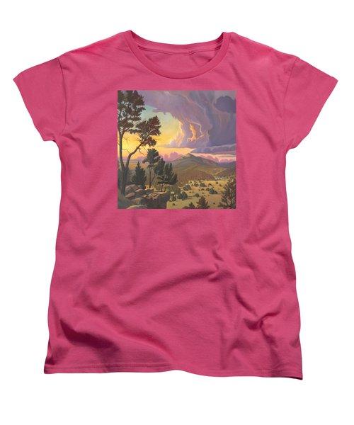 Santa Fe Baldy - Detail Women's T-Shirt (Standard Cut)