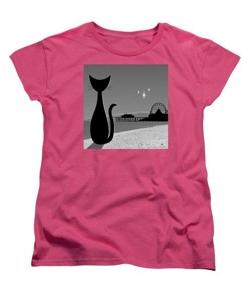 Santa Monica Pier Women's T-Shirt (Standard Cut)