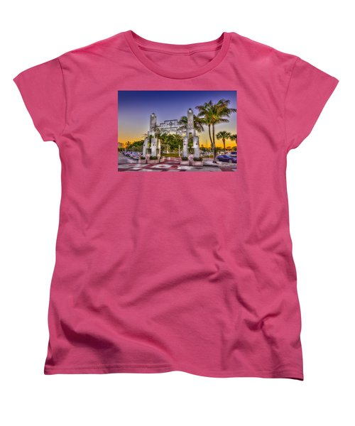 Sarasota Bayfront Women's T-Shirt (Standard Cut) by Marvin Spates