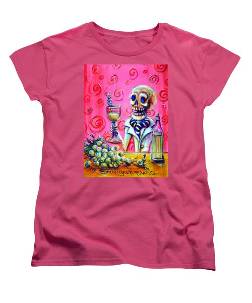 Mi Sauvignon Blanc Women's T-Shirt (Standard Cut)