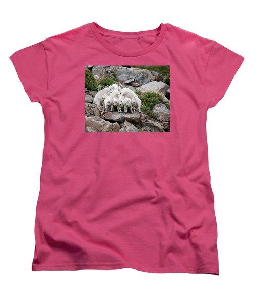 Say Cheese Women's T-Shirt (Standard Cut) by Jim Garrison