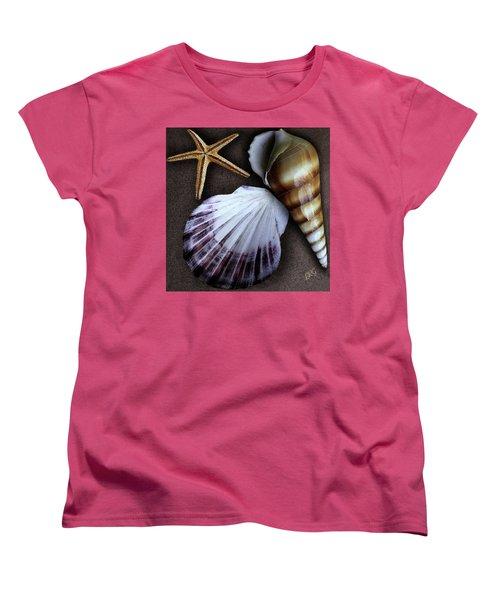 Seashells Spectacular No 37 Women's T-Shirt (Standard Cut) by Ben and Raisa Gertsberg