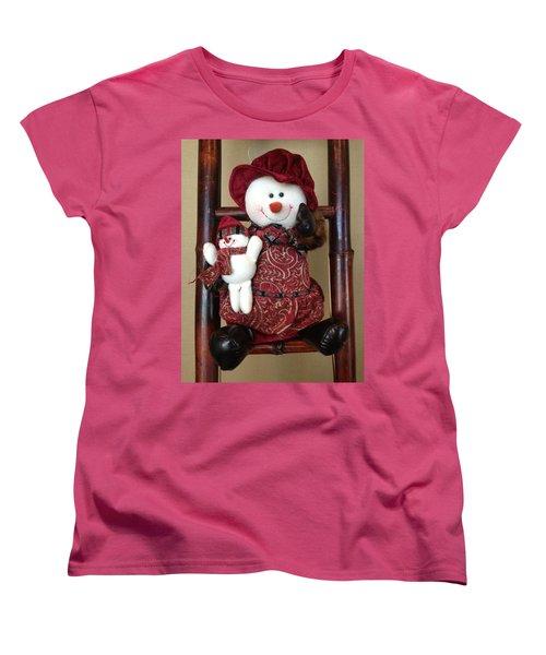 Seasons Greetings Women's T-Shirt (Standard Cut) by Pema Hou