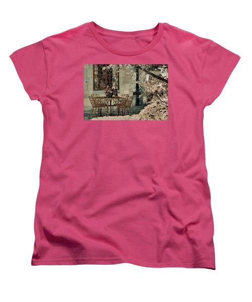 Women's T-Shirt (Standard Cut) featuring the photograph Secret Garden by Lauren Radke