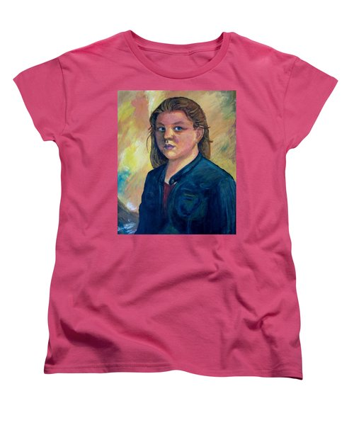 Self Portrait Women's T-Shirt (Standard Cut)
