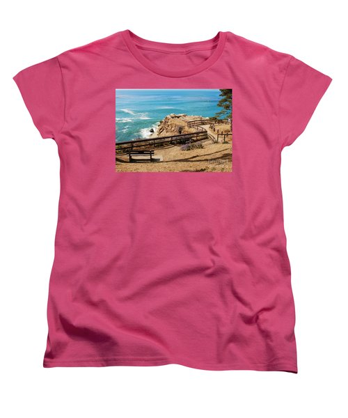 A Place To Relax Women's T-Shirt (Standard Cut) by Claudia Ellis