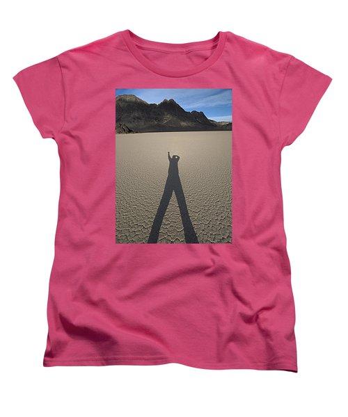 Women's T-Shirt (Standard Cut) featuring the photograph Shadowman by Joe Schofield