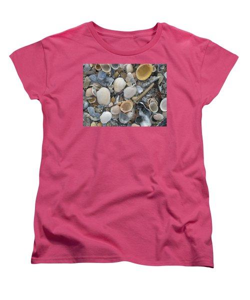 Shell Mosaic Women's T-Shirt (Standard Cut)