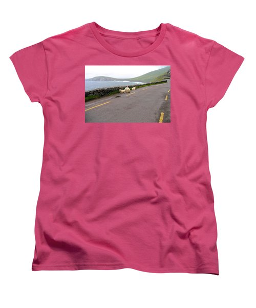 Women's T-Shirt (Standard Cut) featuring the photograph Shelter by Suzanne Oesterling