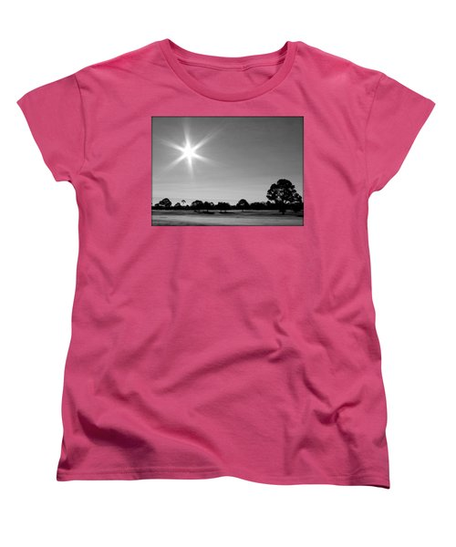 Women's T-Shirt (Standard Cut) featuring the photograph Shine And Rise by Faith Williams