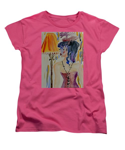 Showgirl Women's T-Shirt (Standard Cut) by Beverley Harper Tinsley