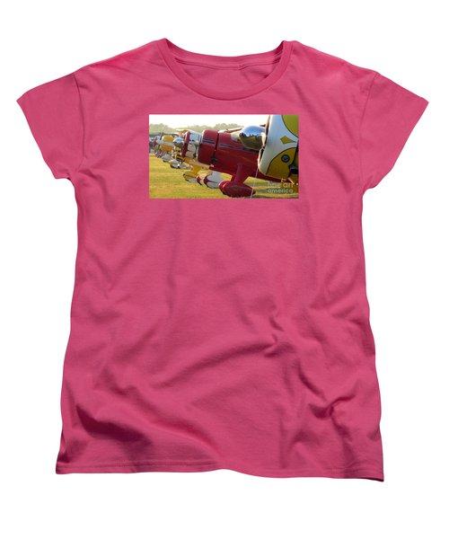 Side By Side. Oshkosh 2012 Women's T-Shirt (Standard Cut) by Ausra Huntington nee Paulauskaite