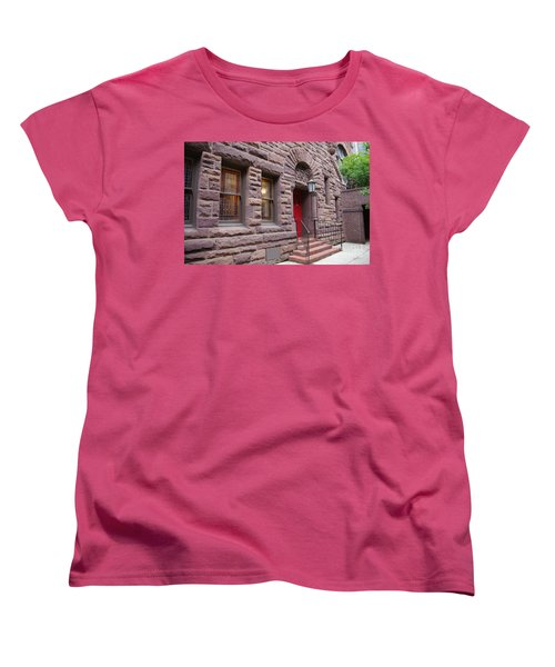 Side Door Women's T-Shirt (Standard Cut) by Liz Masoner
