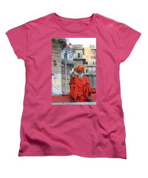 Indian Man Women's T-Shirt (Standard Cut) by Amanda Stadther