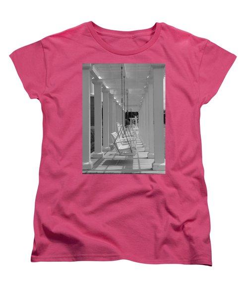 Women's T-Shirt (Standard Cut) featuring the photograph Sit A Spell by Greg Simmons