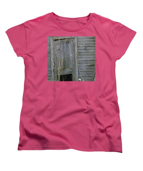Women's T-Shirt (Standard Cut) featuring the photograph Skewed by Nick Kirby