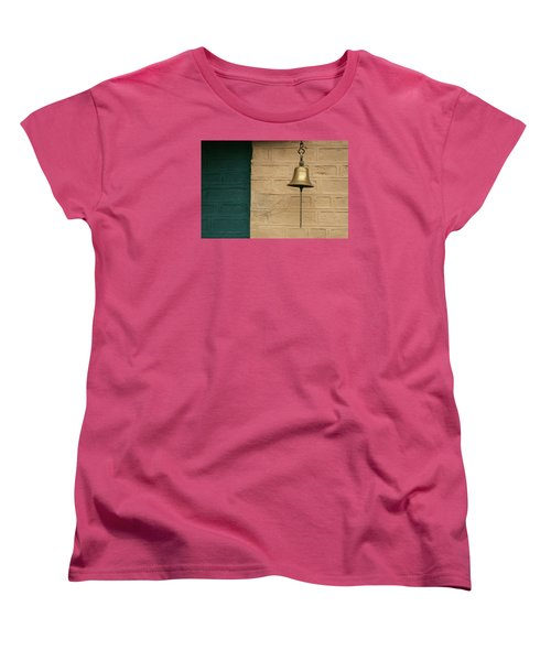 Women's T-Shirt (Standard Cut) featuring the photograph Skc 0005 A Doorbell by Sunil Kapadia
