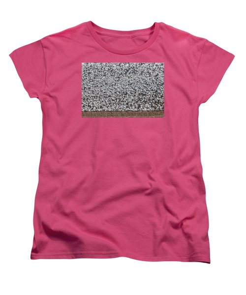 Women's T-Shirt (Standard Cut) featuring the photograph Snow Geese by Brian Williamson