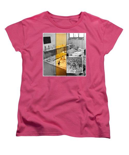 Women's T-Shirt (Standard Cut) featuring the photograph Sogno Nel Presente Part One by Sir Josef - Social Critic - ART