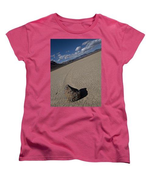 Women's T-Shirt (Standard Cut) featuring the photograph Solo Slider by Joe Schofield
