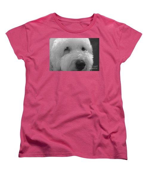 Soulful Eye's Old English Sheep Dog Women's T-Shirt (Standard Cut)