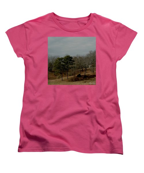 Women's T-Shirt (Standard Cut) featuring the photograph Southern Landscape by Lesa Fine