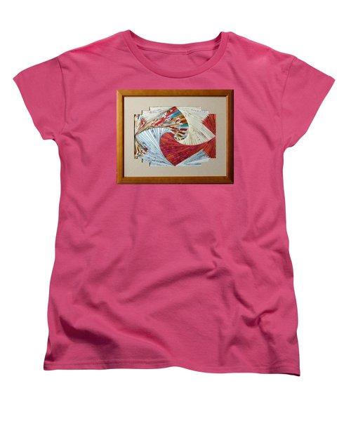 Southwest Sensation Women's T-Shirt (Standard Cut) by Ron Davidson