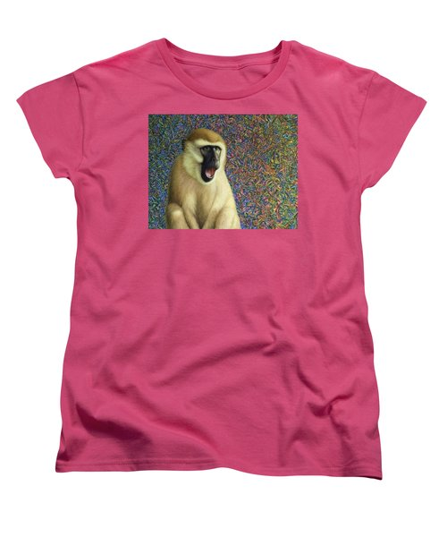 Speechless Women's T-Shirt (Standard Cut) by James W Johnson